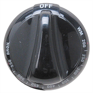 Oven Temperature Knob For Ge Part Wb03k10067