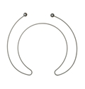 General Electric Dishwasher Heating Element Part # WD05X23763